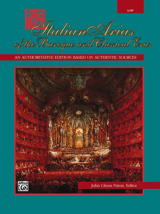Italian Arias of the Baroque and Classical Eras