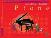 Alfred's Basic Graded Piano Course, Lesson Book 1