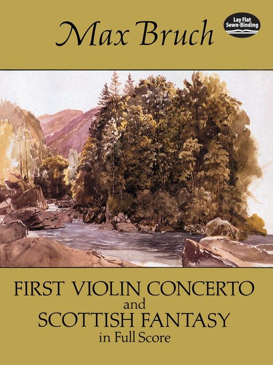 First Violin Concerto and Scottish Fantasy