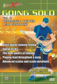 SongXpress® Going Solo, Vol. 2: Becoming a Better Lead Guitarist