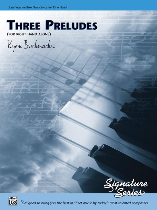 Three Preludes (for right hand alone)