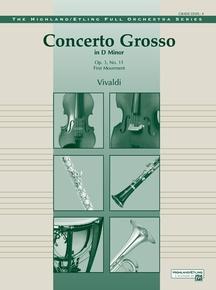 Concerto Grosso in D Minor