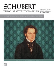 Schubert, Two Characteristic Marches, Opus 121, D. 886