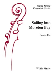 Sailing into Moreton Bay