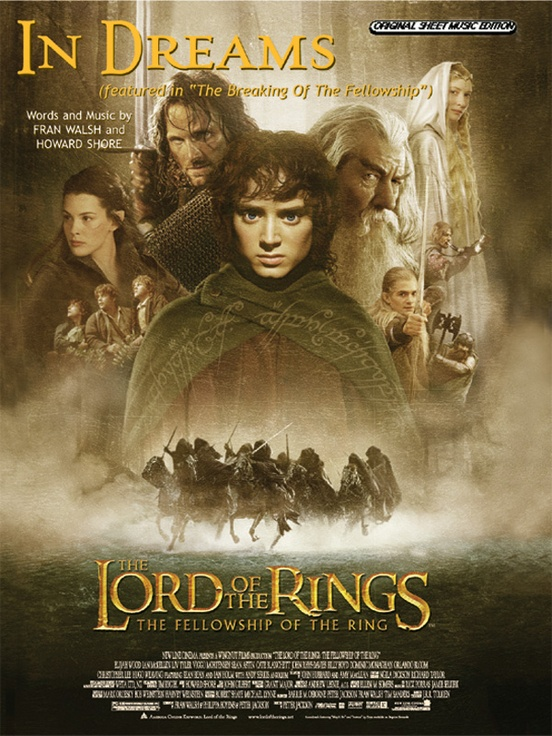 """In Dreams (from The Lord of the Rings: The Fellowship of the Ring) (featured in """"The Breaking of the Fellowship"""")"""