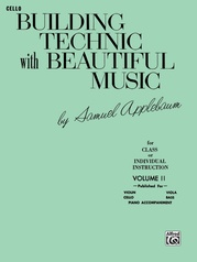 Building Technic With Beautiful Music, Book II