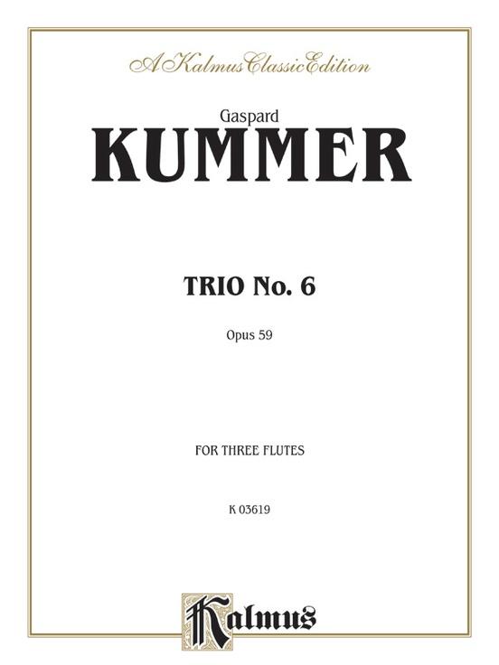 Trio No. 6, Opus 59