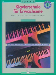 Alfred's Basic Adult Piano Course: German Edition Lesson Book 1