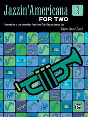 Jazzin' Americana for Two, Book 3