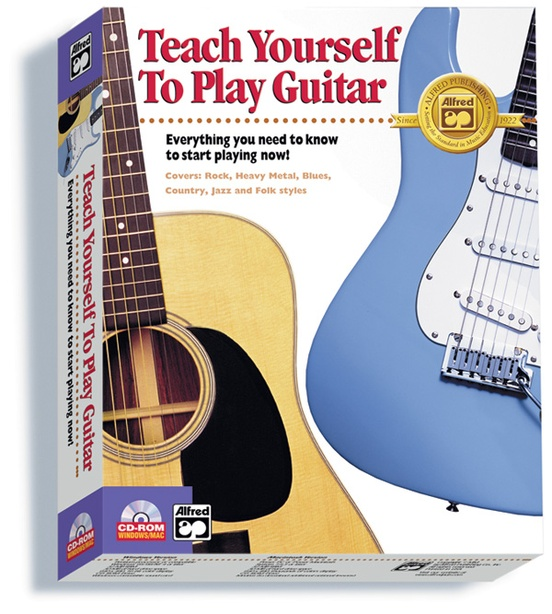 Teaching Yourself Guitar : alfred 39 s teach yourself to play guitar guitar boxed edition cd rom ~ Vivirlamusica.com Haus und Dekorationen