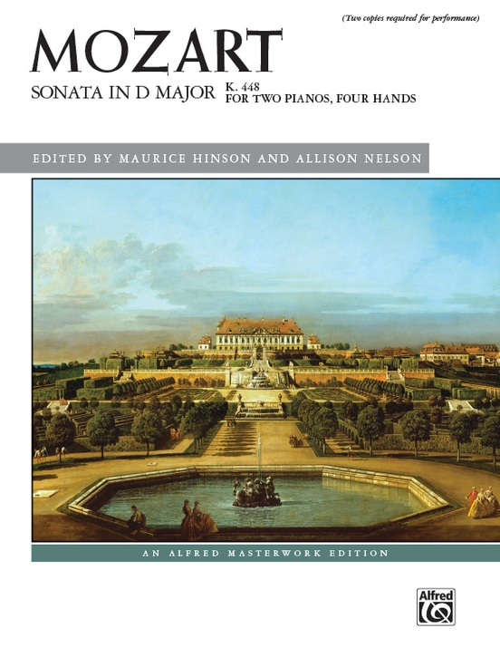 Mozart: Sonata in D Major, K. 448