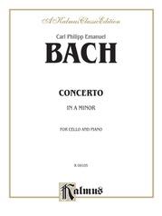 Cello Concerto in A Minor