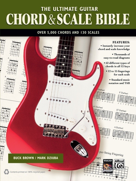 The Ultimate Guitar Chord Scale Bible Guitar Book