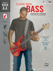 Alfred's Rock Ed.: Classic Rock Bass, Vol. 1
