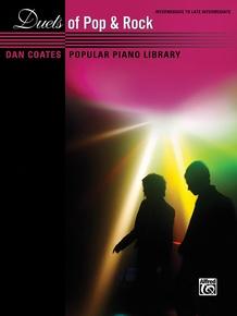 Dan Coates Popular Piano Library: Duets of Pop & Rock
