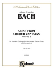 Arias from Church Cantatas, Volume II (12 Sacred)