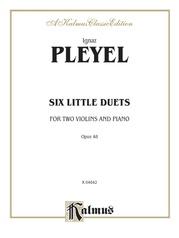 Six Little Duets, Opus 48