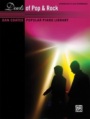 Dan Coates Popular Piano Library: Duets of Pop & Rock