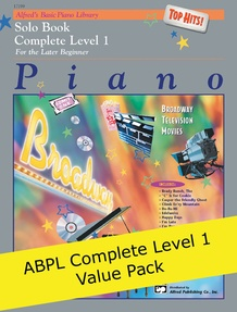 Alfred's Basic Piano Course Complete Level 1 (Value Pack)