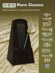10 for 10 Sheet Music: Piano Classics
