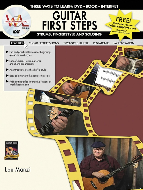Guitar First Steps: Strums, Fingerstyle and Soloing
