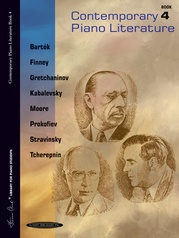 Contemporary Piano Literature, Book 4