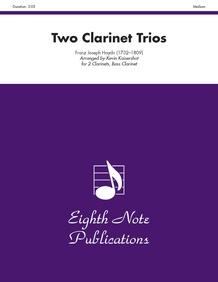 Two Clarinet Trios