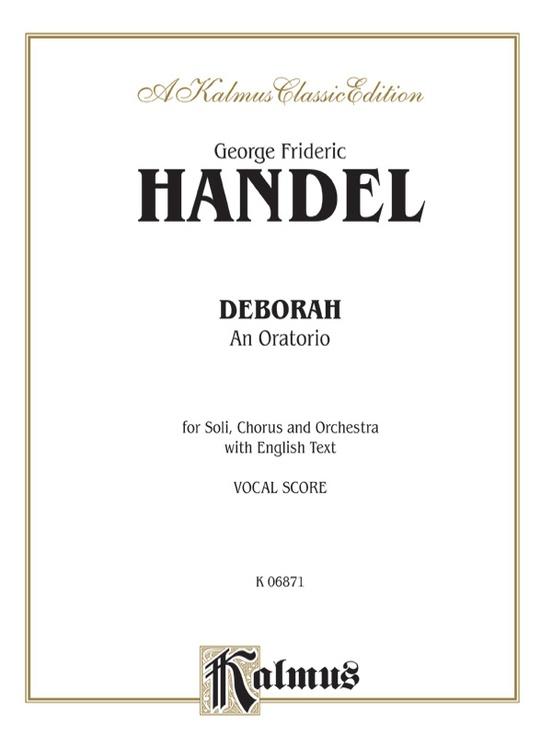 Deborah (1733), An Oratorio