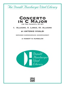 Concerto in C Major for Two Trumpets (I. Allegro, II. Largo, III. Allegro)