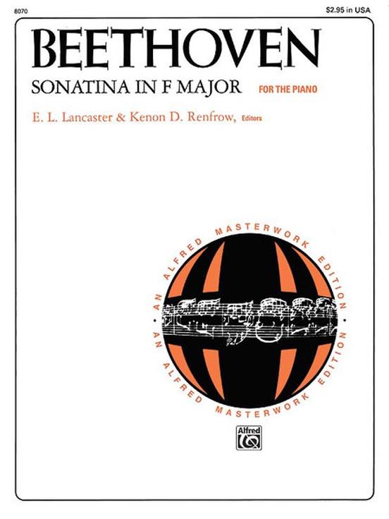 Beethoven, Sonatina in F Major