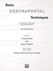 Basic Contrapuntal Techniques (Revised Edition)