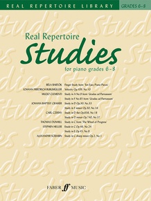 Real Repertoire Studies for Piano Grades 6-8