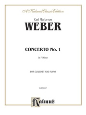Clarinet Concerto No. 1 in F Minor, Opus 73