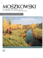 Moszkowski: 20 Short Studies, Opus 91