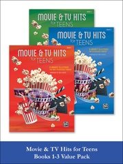Movie & TV Hits for Teens, Books 1-3