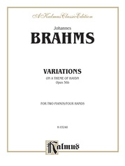 Variations on a Theme of Haydn, Opus 56B