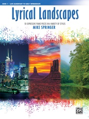 Lyrical Landscapes, Book 1