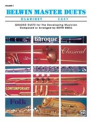 Belwin Master Duets (Clarinet), Easy Volume 1