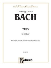 Trio in B-flat for Two Violins