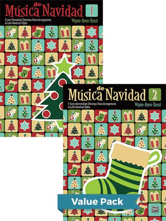 Música de Navidad, Books 1 & 2 (Value Pack)