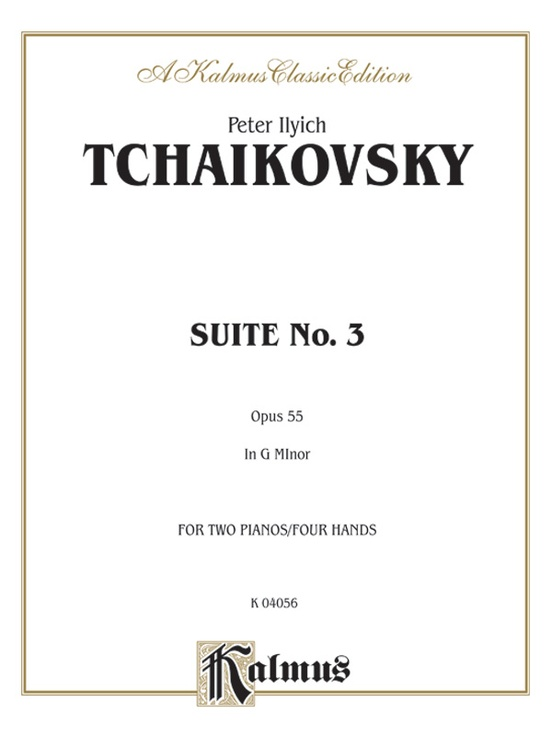 Suite No. 3 in G Major, Opus 55
