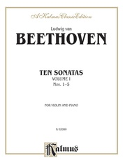 Ten Violin Sonatas, Volume I (Nos. 1-5)