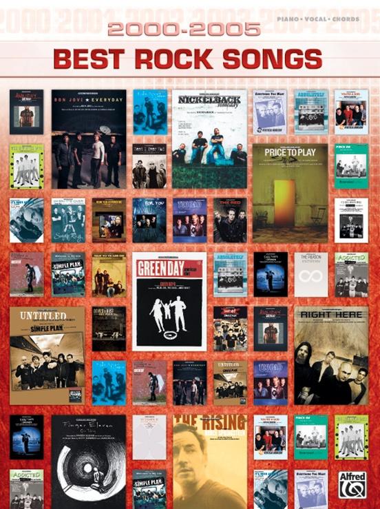 2000-2005 Best Rock Songs: