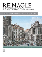 Reinagle, 24 Short & Easy Pieces, Opus 2