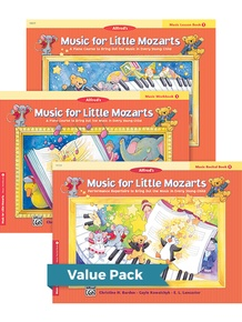 Music for Little Mozarts Level 1 2012 (Value Pack)