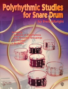 Polyrhythmic Studies for Snare Drum