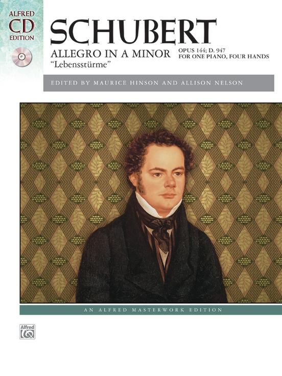 """Schubert: Allegro in A Minor, Opus 144 (""""Lebensstürme"""")"""