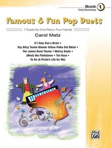 Famous & Fun Pop Duets, Book 1
