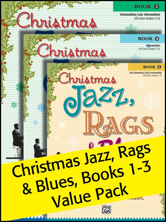 Christmas Jazz, Rags & Blues 1-3 (Value Pack)