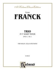 Trio in F-sharp Minor (Opus 1, No. 1)